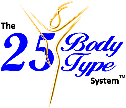 The 25 Body Type System provides ideal body type diets for men and women