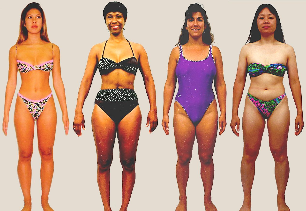 Pictures of female Gonadal body type